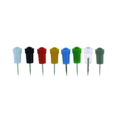 Stoßnadeln mit Plastikschaft sortiert 7,5mm 25 Stück