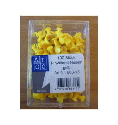 Pinnadeln gelb 100 St