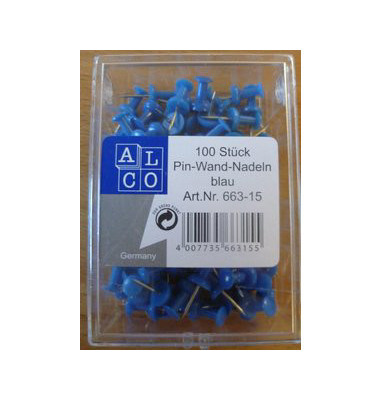 Pinnadeln blau 100 Stück