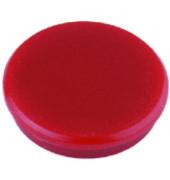 Haftmagnete rund rot 13mm 10 St