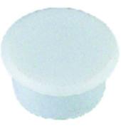 Haftmagnete rund weiß 13mm 10 St