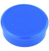 Haftmagnete rund blau 24mm 10 St