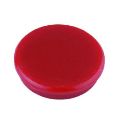 Haftmagnete rund rot 24mm 10 St