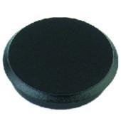 Haftmagnete rund schwarz 24mm 10 St