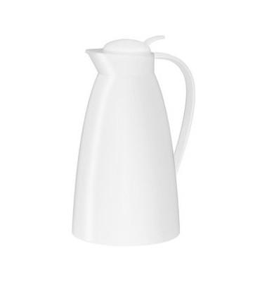 Isolierkanne Eco Kunststoff weiß 1 L