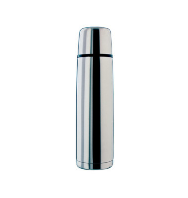 Isolierkanne Toptherm Drehverschluss Edelstahl 0,5 Liter ultraleicht
