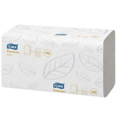 Papierhandtücher 100288 Xpress Premium soft H2 Multifold 21,2 x 34 cm TAD/Tissue hochweiß 2-lagig 2310 Tücher