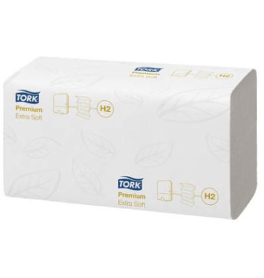 Papierhandtücher 100297 Xpress Premium extra soft H2 Multifold 21 x 34 cm TAD hochweiß 2-lagig 2100 Tücher