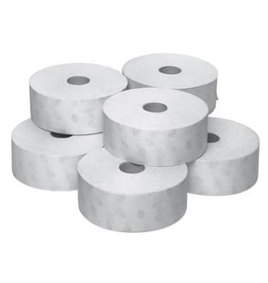 Toilettenpapier Premium Jumbo Soft 110273 T1 2-lagig 6 Rollen