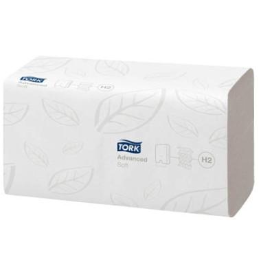 Papierhandtücher 120288 Xpress Advanced soft H2 Multifold 21 x 34 cm TAD/Tissue hochweiß 2-lagig 2856 Tücher