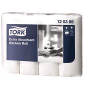 Küchenrollen 120305 Extra absorbent 3-lagig weiß 4 Rollen à 51 Blatt