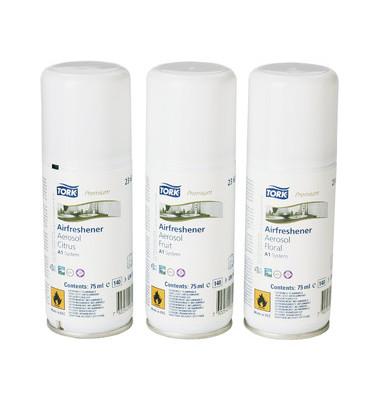 Lufterfrischer 236056 Premium Spray Mixed Pack Nachfüller A1 75 ml 12 Stück