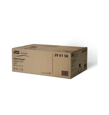 Papierhandtücher 290158 Universal H3 Zickzack 23 x 23 cm TAD hochweiß 1-lagig 4500 Tücher