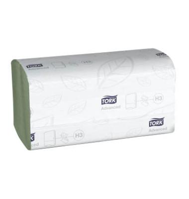 Papierhandtücher 290179 Advanced H3 Zickzack 25 x 23 cm Tissue grün 2-lagig 3750 Tücher