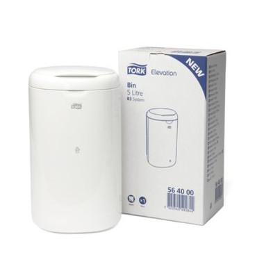 Abfallbehälter 564000 Elevation 5 Liter B3 weiß