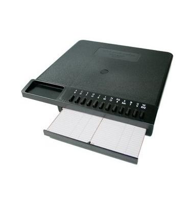 Telefonregister Maxi-Confon 28 x 26,5 x 3,5cm für 900 Einträge schwarz