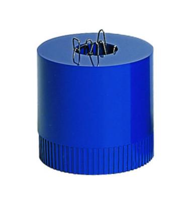 Klammernspender Clip-Boy gefüllt royalblau
