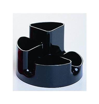 Schreibgeräteköcher universal schwarz 145 x 90mm Circle