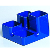 Schreibgeräteköcher Unibutler royalblau 4 Fächer