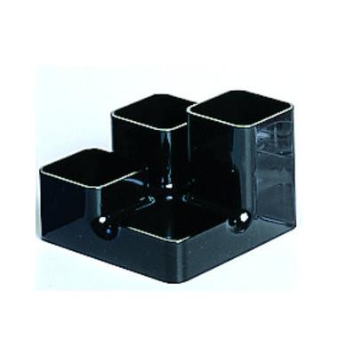 Schreibgeräteköcher Unibutler schwarz 4 Fächer