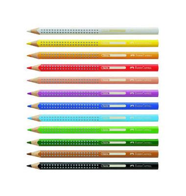Buntstifte Jumbo Griplichtgelb lasierend 9 x 175mm