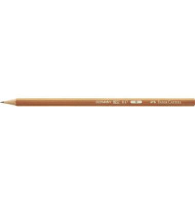 Bleistifte B natur Wasserlack