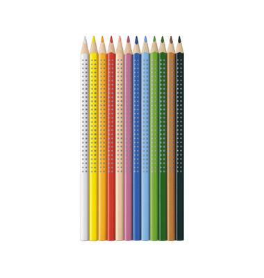 Buntstifte Colour Grip weiß 7 x 175mm