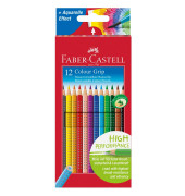 Farbstift Colour GRIP 2001 3mm 3eckig 12er-Karton Faber Castell
