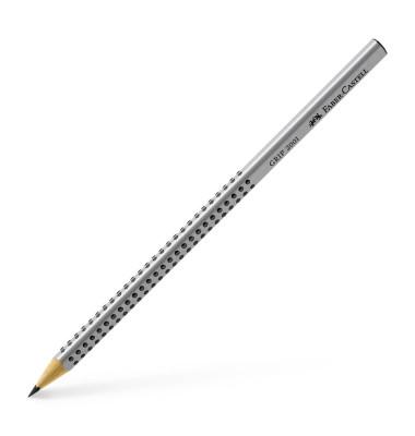 Bleistift Grip 2001 117000 silbergrau HB