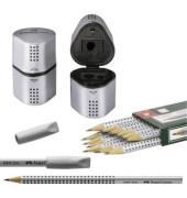 Bleistifte StarterSet 12xGrip, 2xRad, 1xTrio