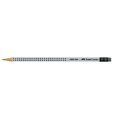 Bleistifte mit Gummitip HB 12 Stück Grip2001