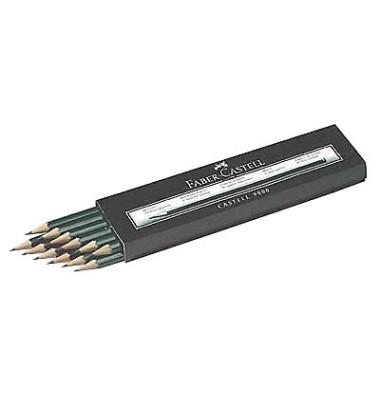 Bleistift Castell 9000 119000 dunkelgrün HB