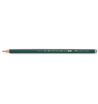 Bleistifte Castell 9000 7B Wasserlack