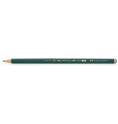Bleistifte Castell 9000 3H Wasserlack