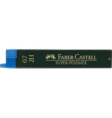 Druckbleistiftminen 0,7mm 2H Polymer 12 St