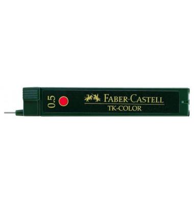 Druckbleistiftminen 0,5mm rot TK-Color 12 St