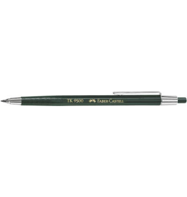 Fallminenstift TK 9500 139500 dunkelgrün 2,0mm HB