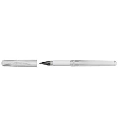 Gelschreiber Signo broad UM 153 weiß 0,6 mm