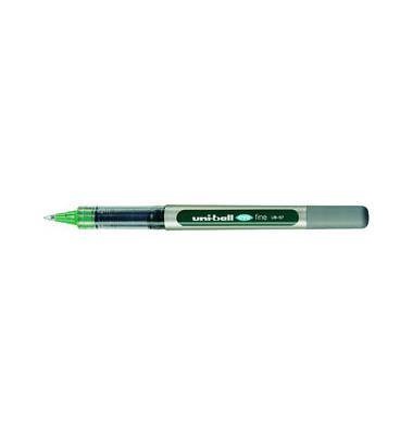 Tintenroller eye fine UB-157 silber/grün 0,4 mm