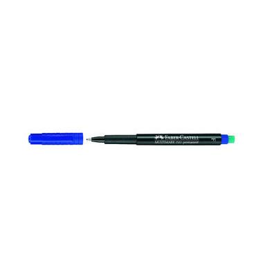 Folienstift Multimark 1513 F blau 0,6 mm permanent