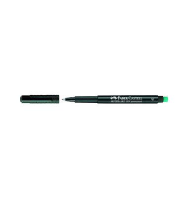 Folienstift Multimark 1513 F schwarz 0,6 mm permanent