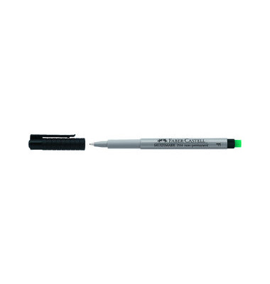 Folienstift Multimark 1514 F schwarz 0,6 mm non-permanent