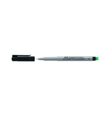 Folienstift Multimark 1514 F schwarz 0,6 mm non-permanent