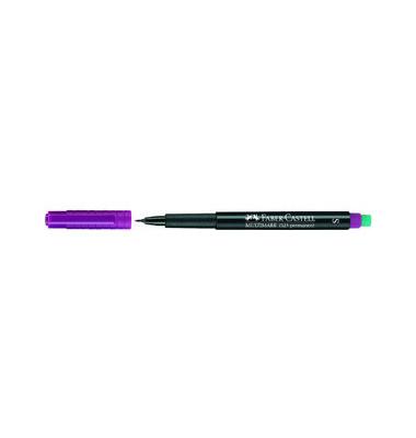 Folienstift Multimark 1523 S violett 0,4 mm permanent