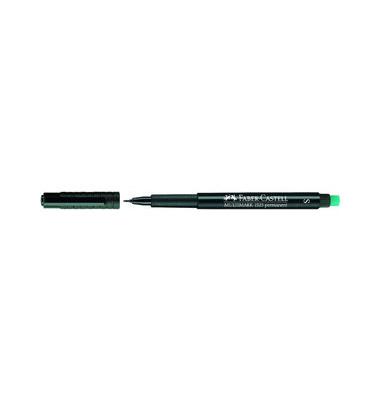 Folienstift Multimark 1523 S schwarz 0,4 mm  permanent