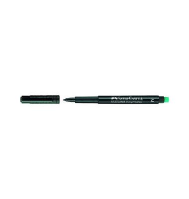 Folienstift Multimark 1525 M schwarz 1,0 mm permanent