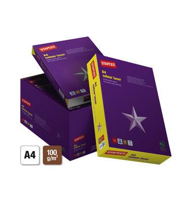 colour laser A4 100g Laserpapier weiß 500 Blatt