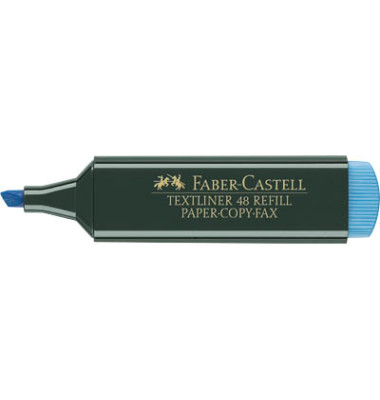 Textmarker 1548 Textliner blau 1-5mm Keilspitze