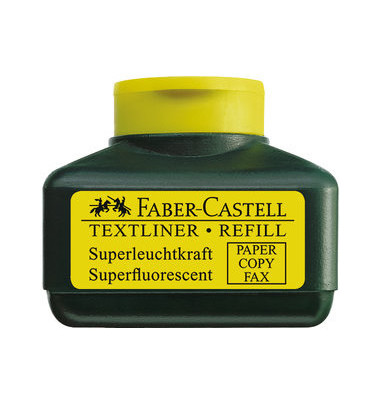 Nachfüllfarbe für Textliner 48 gelb 30 ml