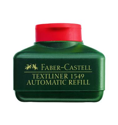 Nachfüllfarbe für Textliner 48 rot 25 ml